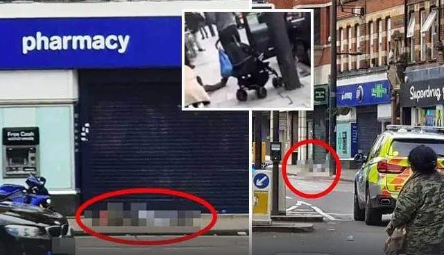 لندن میں فائرنگ کا واقعہ