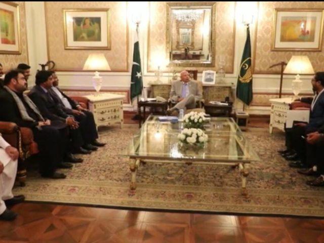DG ISI Lt. Gen. Faiz Hamid called on Prime Minister Imran Khan