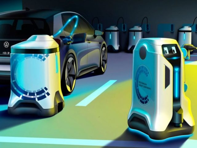 گاڑیاں روبوٹ چارج کریں گے