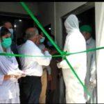 پاکستان میں ایک  ہزار 415 ڈاکٹرز اور پیرامیڈیکس متاثر