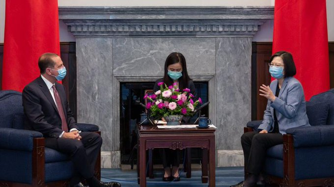 چین سے تعلقات کشیدگی پر امریکا تائیوان سے قریب آنے لگا