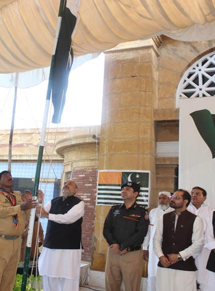 نواب شاہ میں یوم آزادی پر ملکی تعمیر و ترقی کا عزم