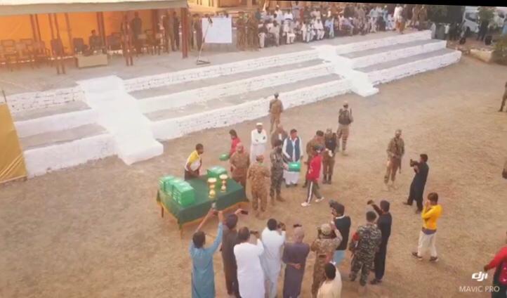 """ڈیرہ اسماعیل خان کے """"دار زندہ"""" میں پاک فوج کے تعاون سے کرکٹ ٹورنامنٹ"""