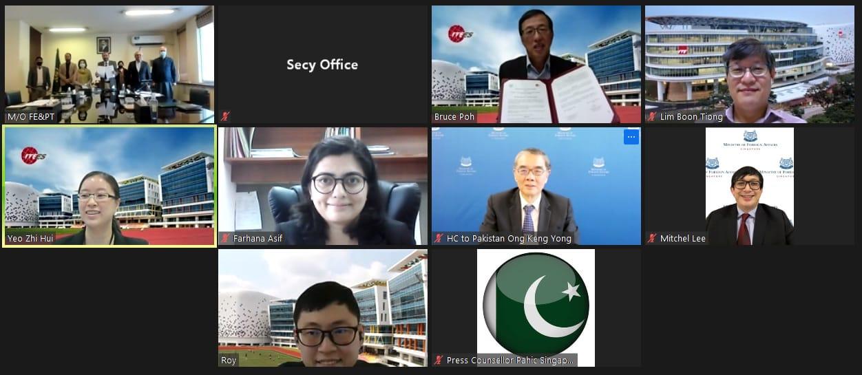 پاکستان اور سنگارپور کے درمیان تعلیمی ترقی اور معیار بہتر بنانے کا معاہدہ