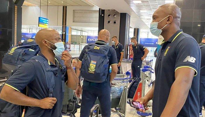 جنوبی افریقا کرکٹ ٹیم کے تمام کھلاڑیوں کے کورونا ٹیسٹ منفی آگئے