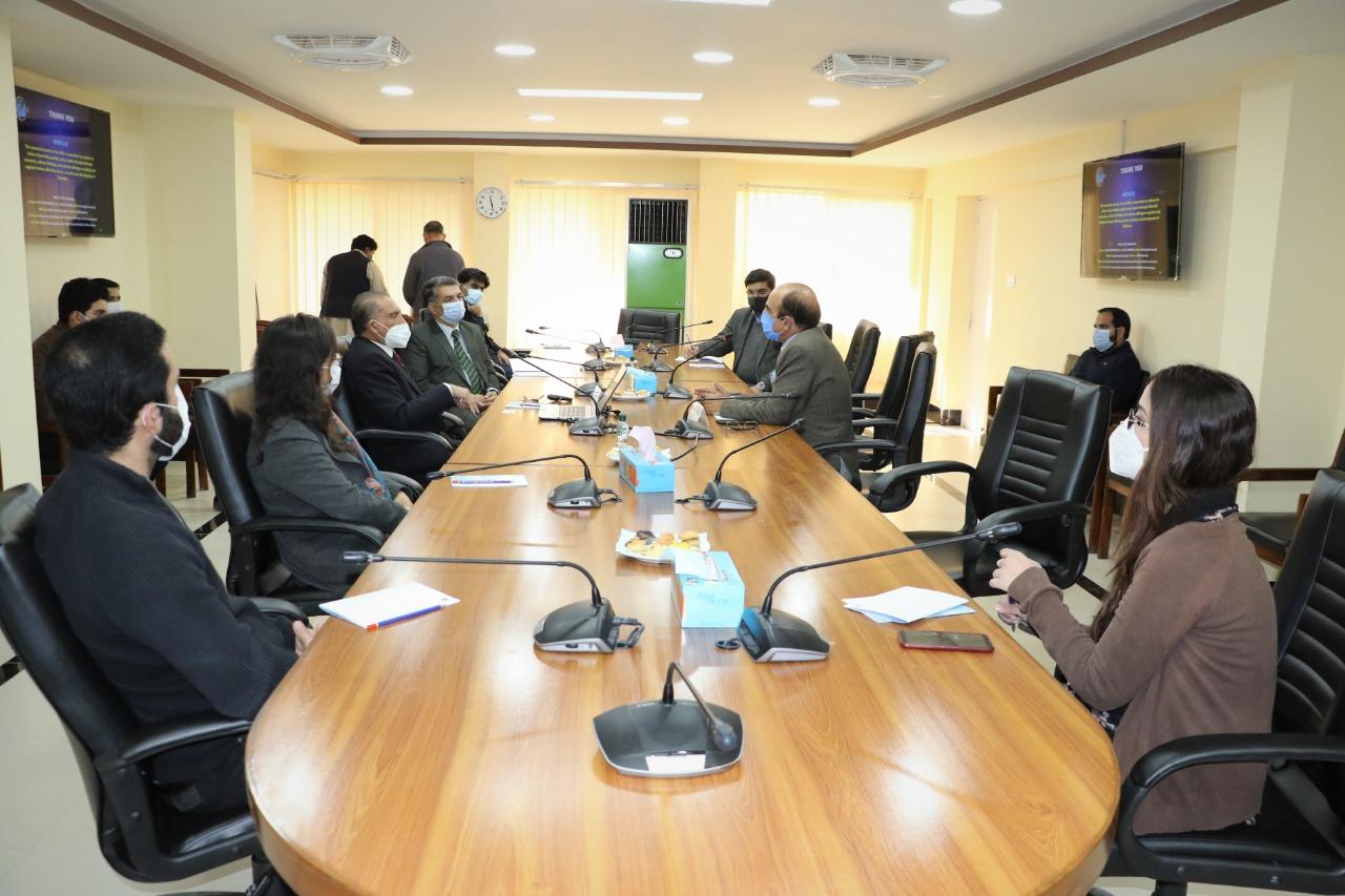 چائنا پاکستان اسٹڈی سینٹر اور قراقرم یونیورسٹی گلگت میں تعاون بڑھانے کا عزم