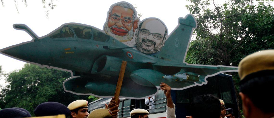 رافیل طیاروں کی خریداری میں مودی حکومت کی کرپشن بے نقاب