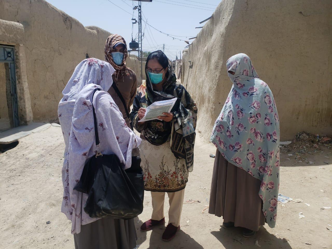 بلوچستان میں انسداد پولیو مہم، گھر گھر بچوں کو حفاظتی ٹیکے