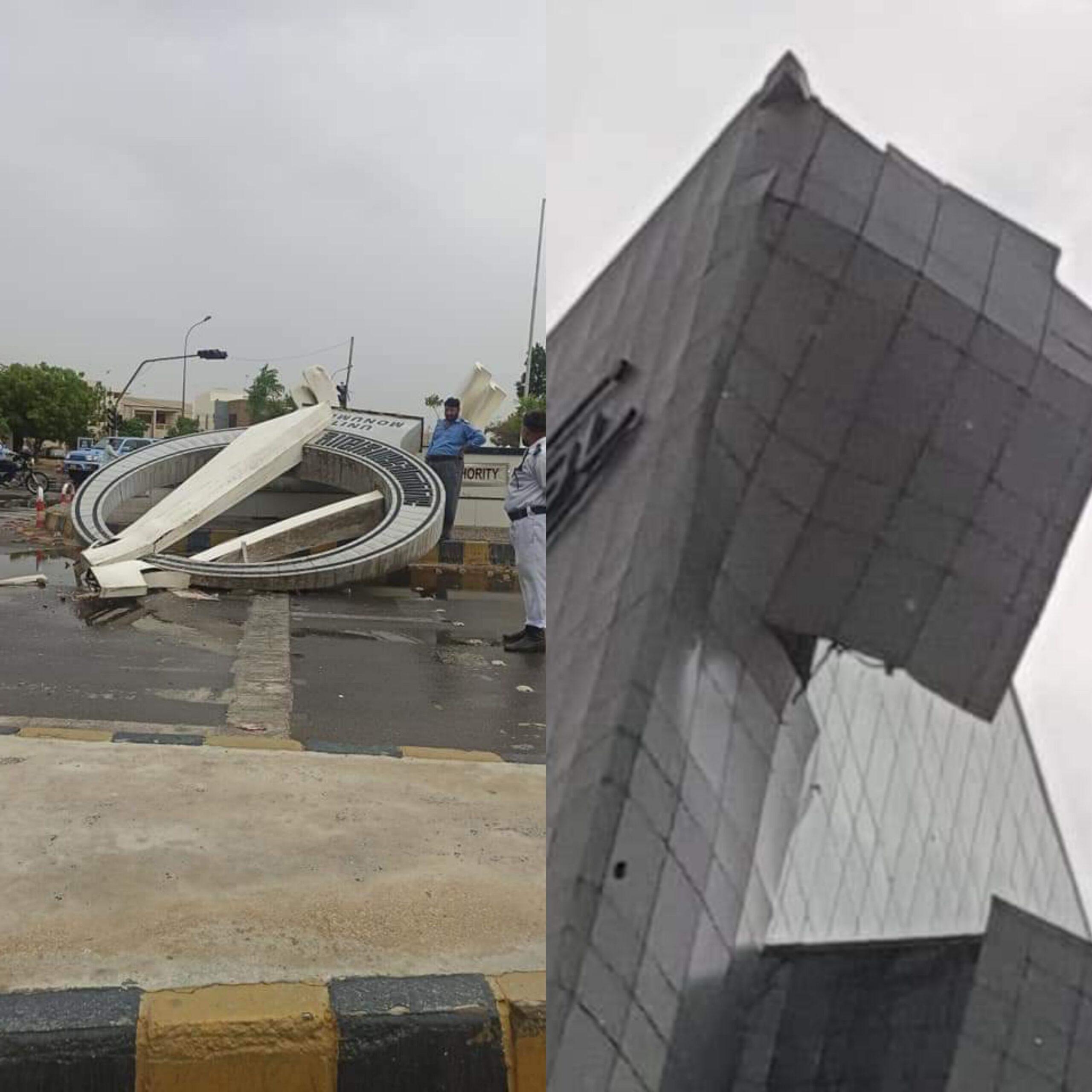کراچی میں تیز ہوا اور آندھی سے 5 افراد جاں بحق اور متعدد زخمی