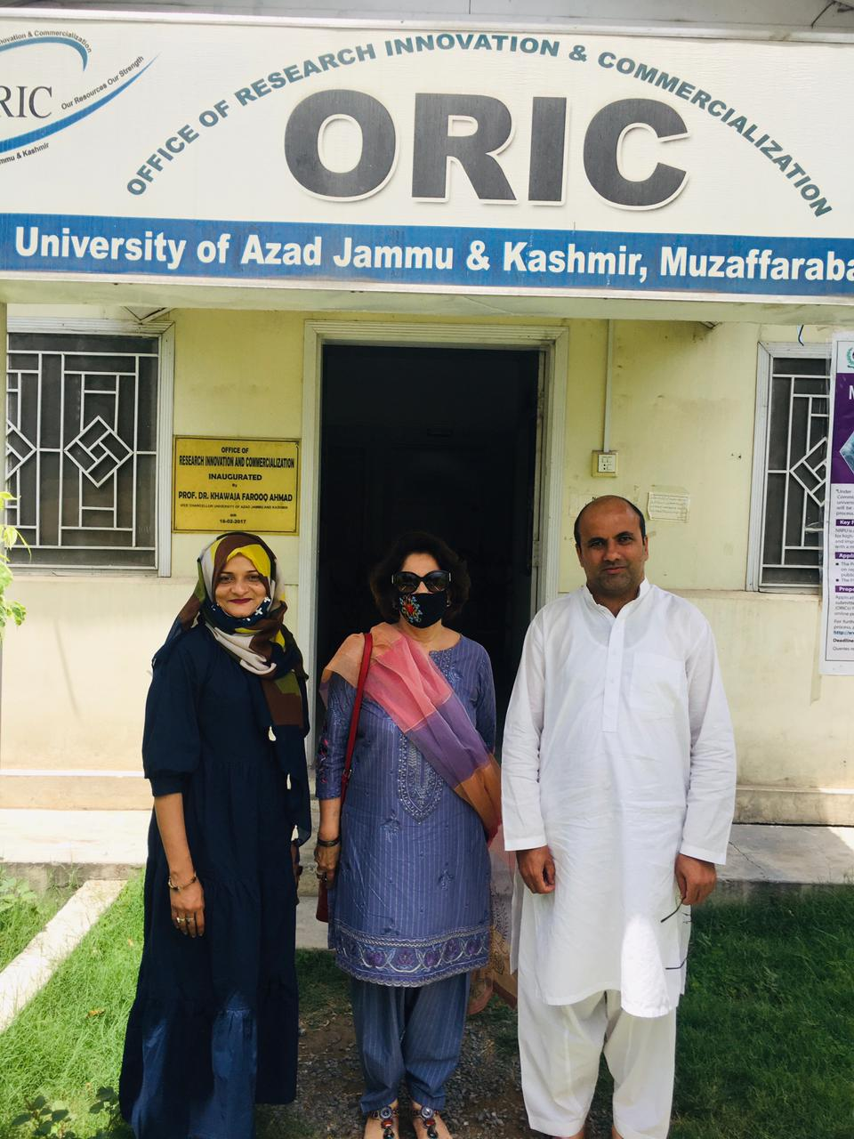 جامعہ کراچی اور یونیورسٹی آف آزاد جموں کشمیر کے درمیان مفاہمتی یادداشت پر دستخط