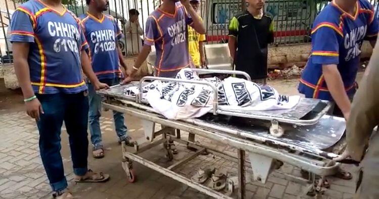 کراچی میں بارش سے مکان  گر گیا بچوں سمیت چار افراد جاں بحق