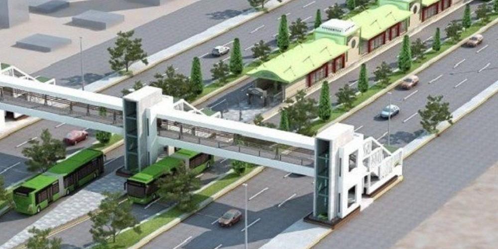 گرین لائن بس منصوبہ، بسیں ٹرمینل پر چلنے کو تیار
