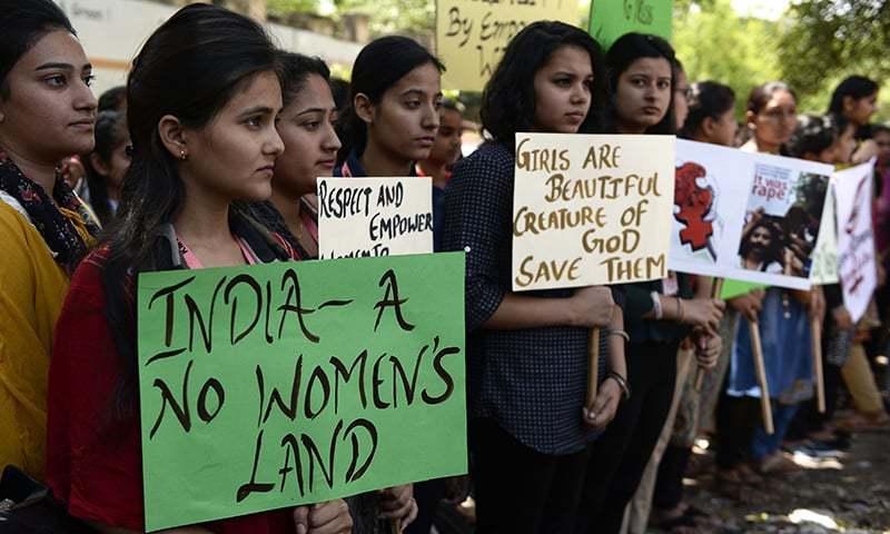 بھارت میں مزید 2 بہنوں کی عزتیں لوٹ لی گئیں