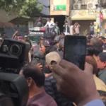کراچی مختلف محکموں کےبرطرف ملازمین کااحتجاج